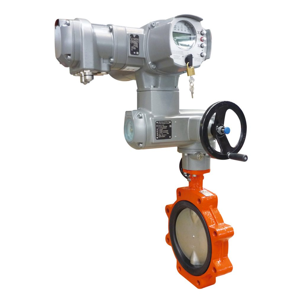 Butterfly valves concentric design